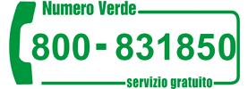 numero verde infortunistica stradale